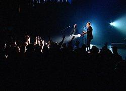 DVD: Martin shines a spotlight into the crowd